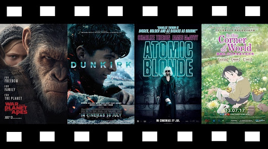 Coming soon Malaysia: Planet of the Apes 3, Dunkirk, Atomic Blonde, Corner of the World, Salesman