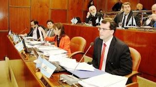 Del Pie tuvo actuación en causas de gran trascendencia como las de expropiaciones, asistiendo al fiscal Carlos Rodríguez, y la más reciente del derrame en Veladero.