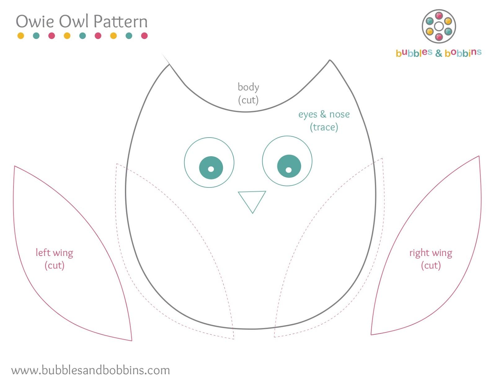 Owie Owl Pattern}