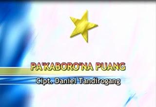 Pa'kaboro'na Puang (Daniel Tandirogang)
