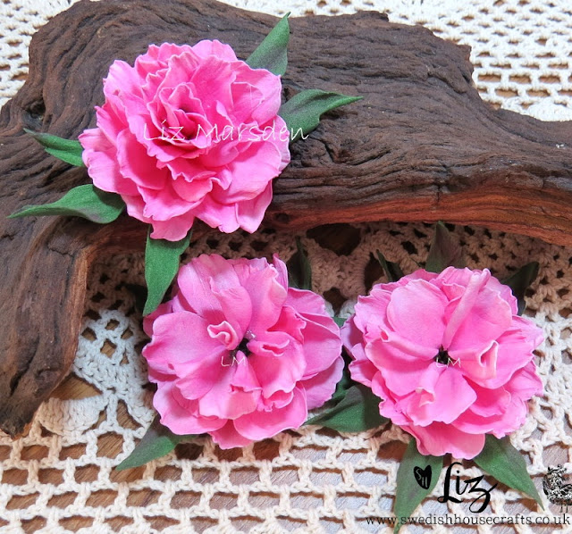 Foamiran Dianthus style flower tutorial | By Liz