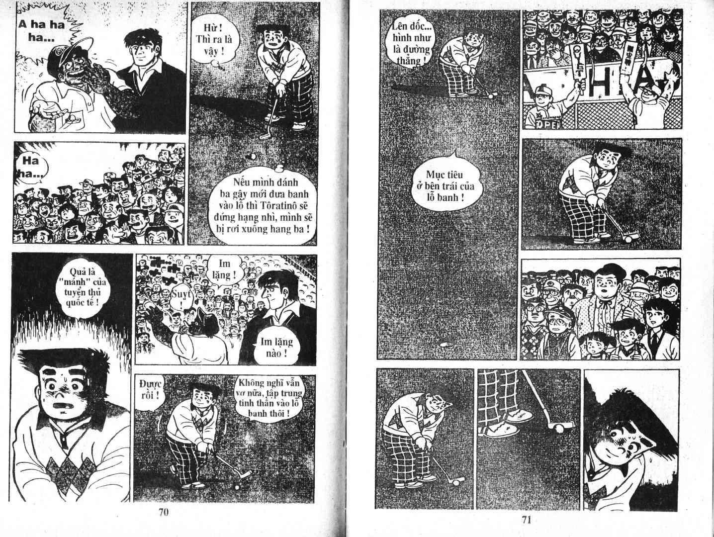 Ashita Tenki ni Naare chapter 48 trang 34