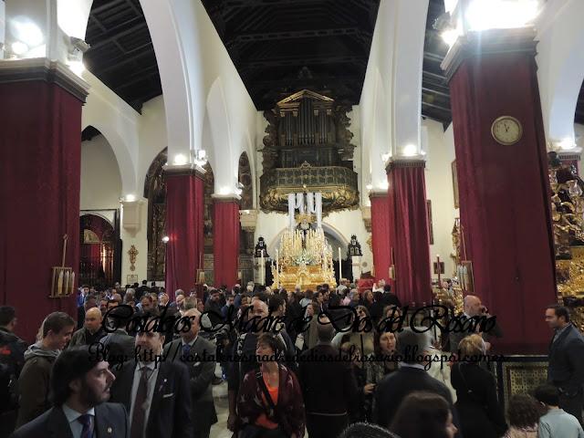 Imágenes de un Martes Santo por Sevilla