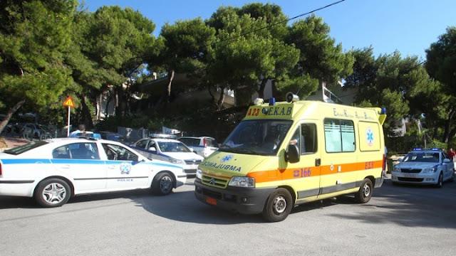 Τροχαίο ατύχημα στα Φίχτια - Στο νοσοκομείο μεταφέρθηκε έγκυος στον 6ο μηνα