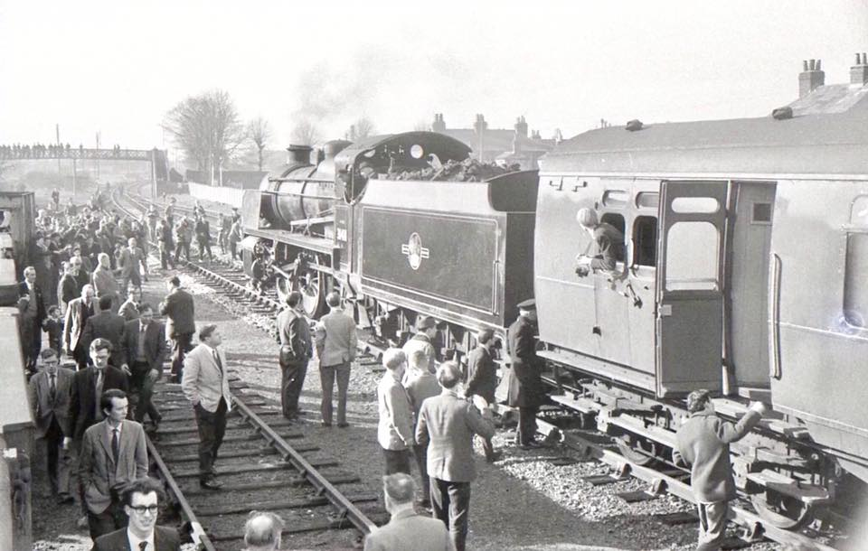 Special Train at Gosport 1966