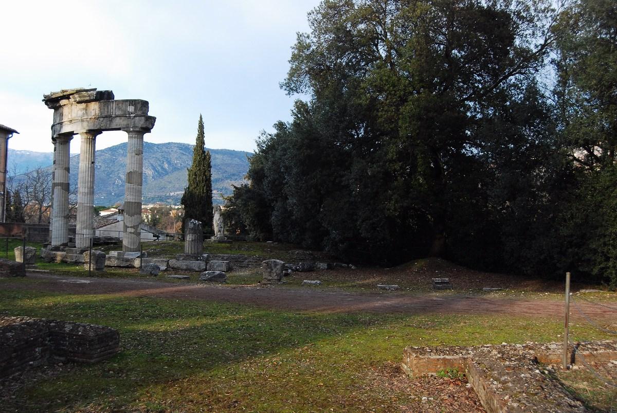 temple de Vénus Villa Adriana