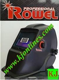 หน้ากากกรองแสงอัตโนมัต ROWEL