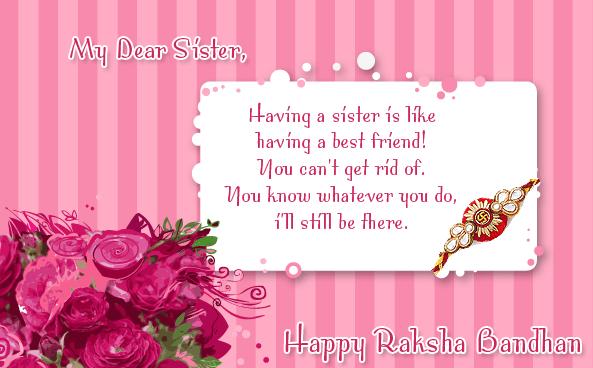 Happy Rakhi Greeting Cards