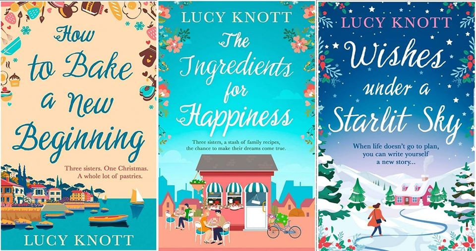 All Three of Lucy's Books are OUT NOW!
