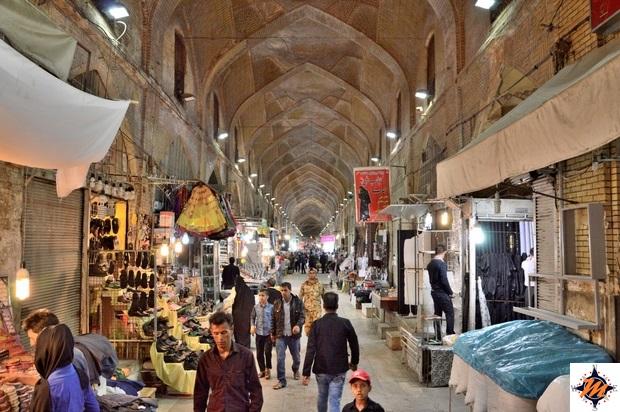 Shiraz, Bazar-e Vakil Nord