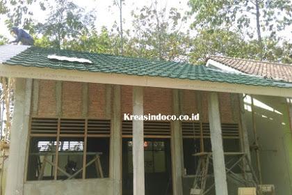 Rangka Atap Baja Ringan Pemasangan di Yayasan Ponpes Dar'Attauhid Cirebon