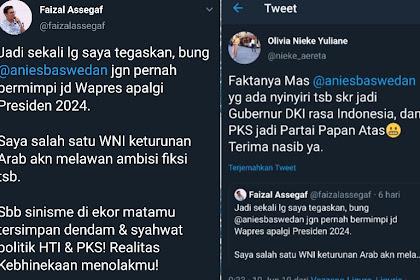 Faisal Assegaf 'DIGAMPAR' Warganet, Lantaran Hina Anies di Twitter