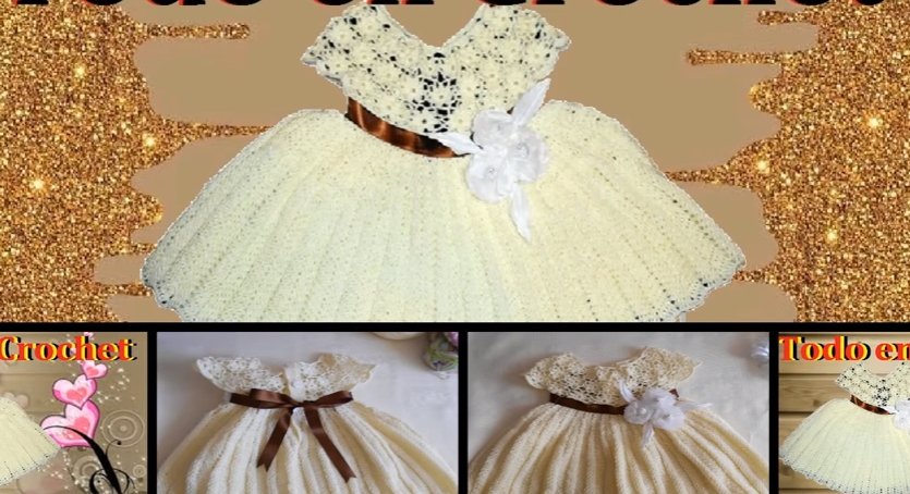 Come Realizzare Un Bellissimo Vestito Bambina Ad Uncinetto 14 I