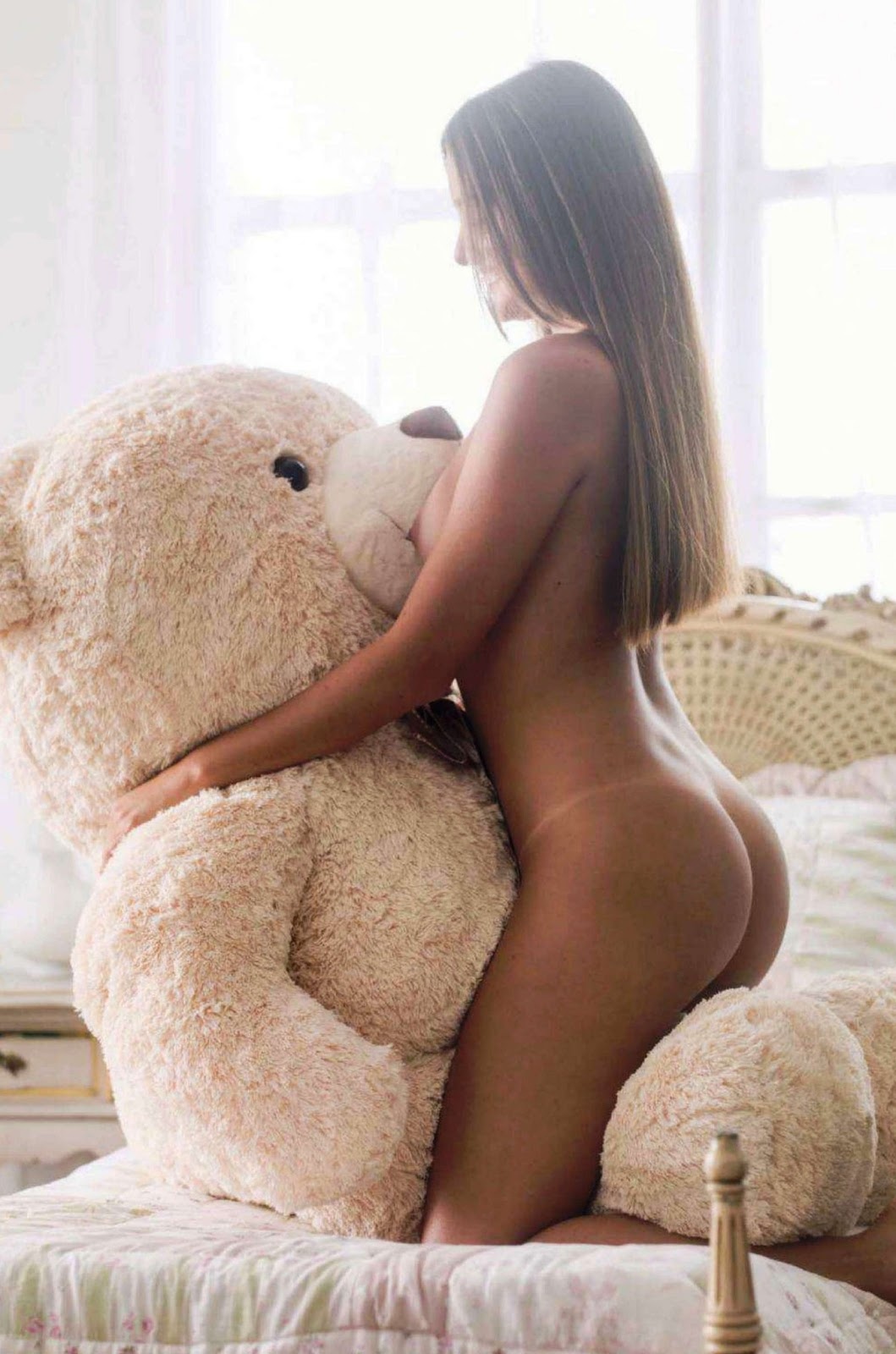 Girls Humping Teddy Bears
