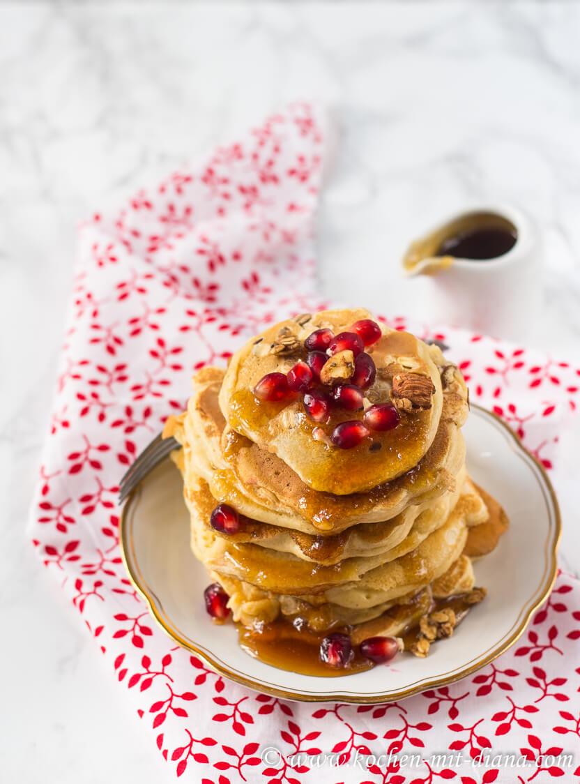 Granola-Pancakes