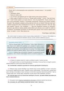 12. Sınıf Türk Dili ve Edebiyatı Dersdestek Yayınları Sayfa 13