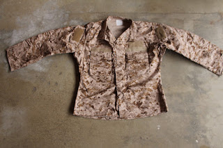 AOR1 NWU Type II Shirt Blouse Top Navy Working Uniform SEAL NSW Desert
