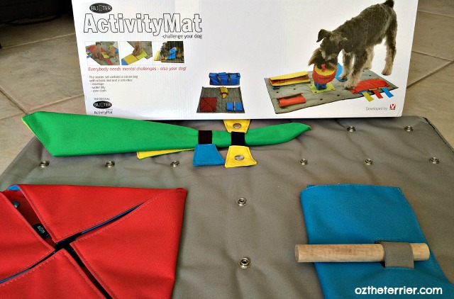 BUSTER ActivityMat puzzle toy for dogs by KRUUSE