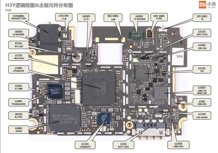 Schematic Xiaomi Redmi Note 2 Hermes Full Layout Diagram - Skema Free
