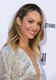 Candice Swanepoel at The Daily Front Row Fashion Awards 2019