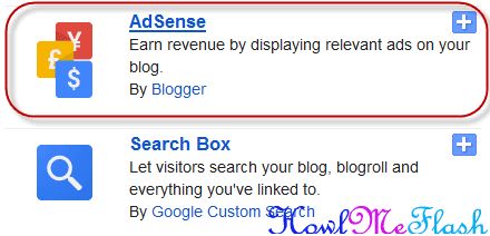 add adsense ads to blogger blogspot