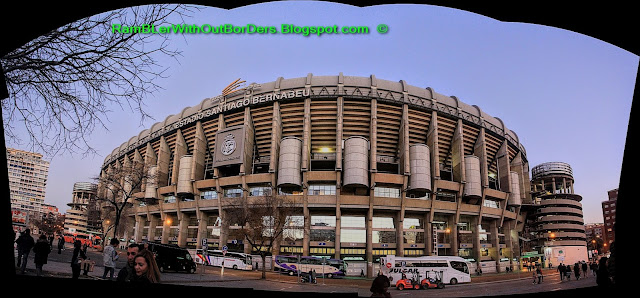 Panorama, Santiago Bernabeu Stadium, Madrid, Spain
