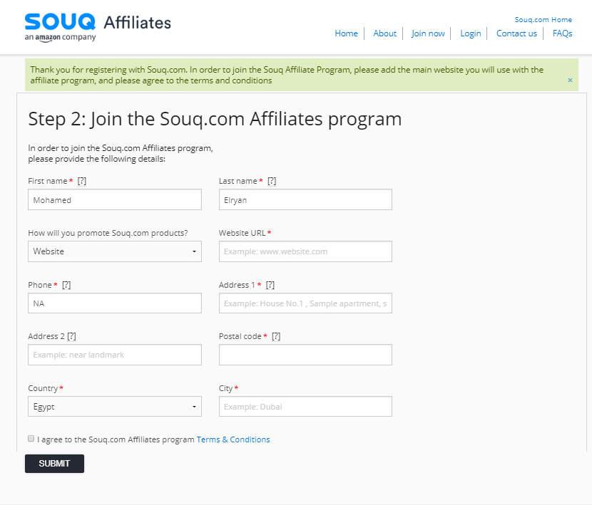 7a3e7c44f شرح ربح 1000$ شهرياً باستخدام التسويق بالعمولة سوق كوم affiliate souq