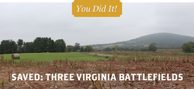 Preservation Victory at Three Virginia Battlefields