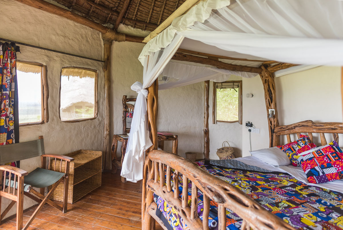 Lions Bluff Lodge, Kenya,