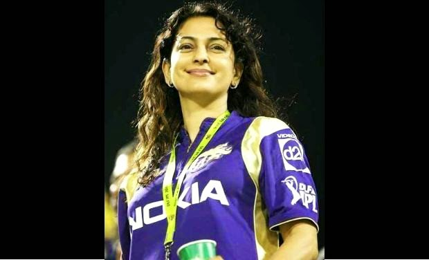 Image result for juhi chawla and KKR