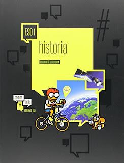 Libro Geografía e Historia 1º ESO Edelvives Proyecto #somoslink