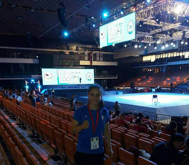 Καταπληκτική εμφάνιση για την Μαρία Στόλη στο πανευρωπαϊκό πρωτάθλημα καράτε