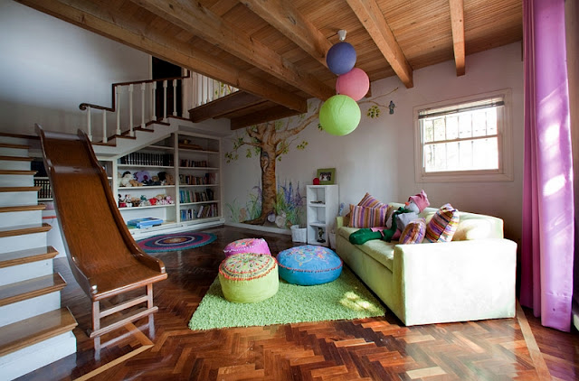 Decorating a family friendly home