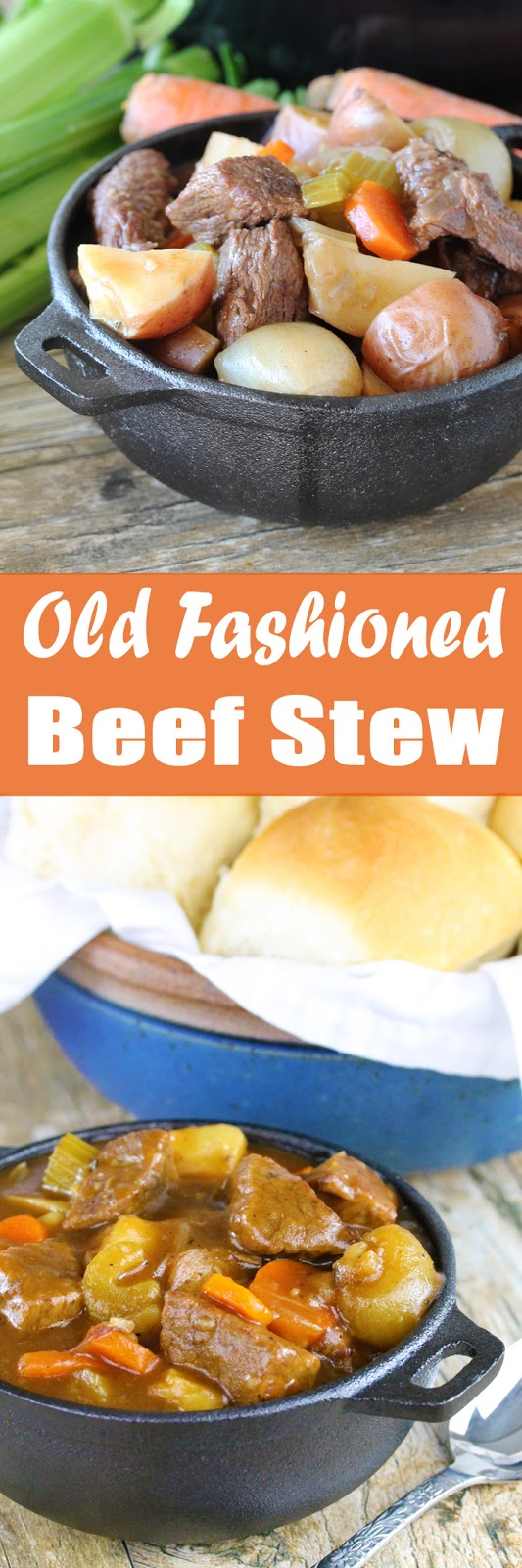 Hearty old fashioned beef stew is a classic comfort meal everyone loves.