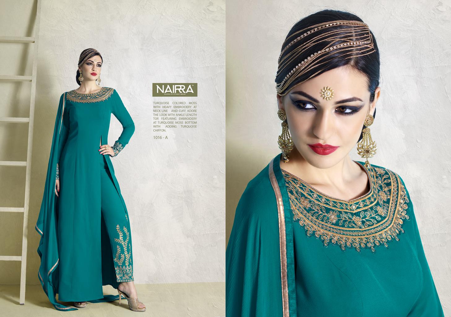Nairra – Mind Blowing Different Heavy Designer Salwar Suit