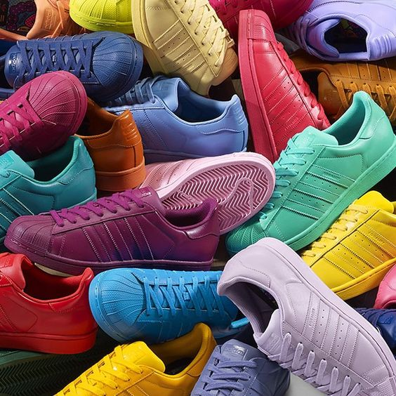 Adidas Superstar Coloridos