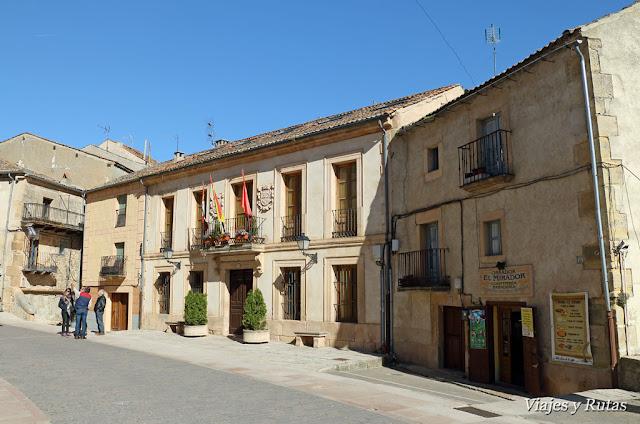 Centro de Interpretación de la Antigua Cárcel y la Oficina de Turismo de Sepúlveda.