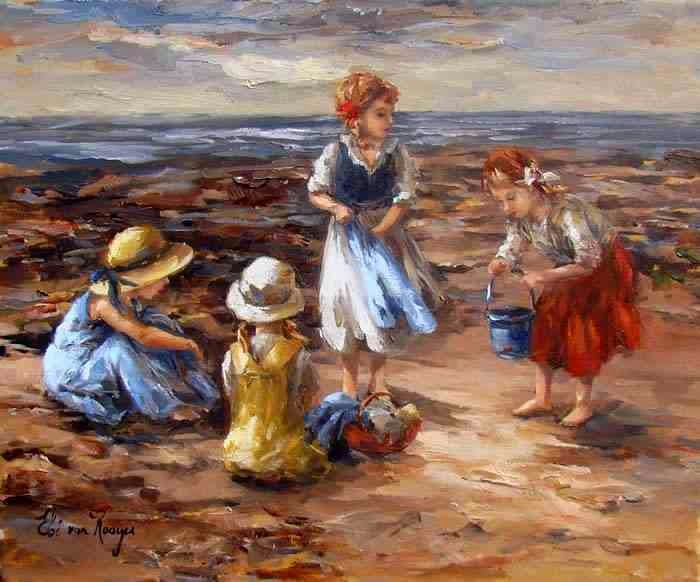 Южноафриканская художница. Elbe van Rooyen