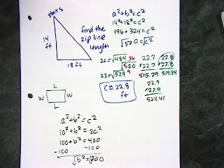 HW: Pythagorean Packet, word problems only do the odds (draw pictures ...