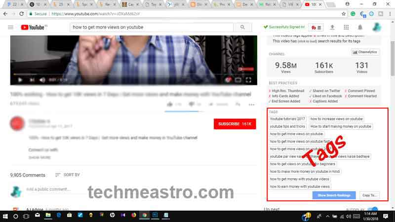 How to find Tags of any Video on YouTube | YouTube Keyword