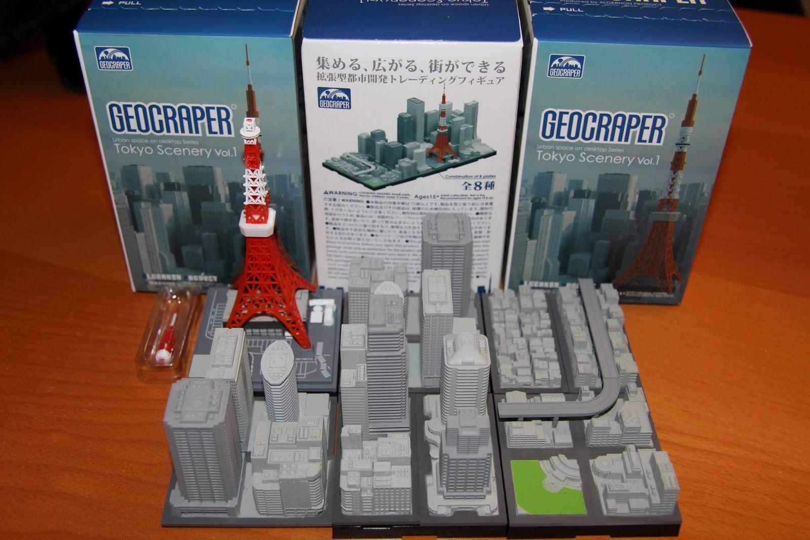 Tokyo Excess: Geocraper Miniatures of Tokyo For Dioramas