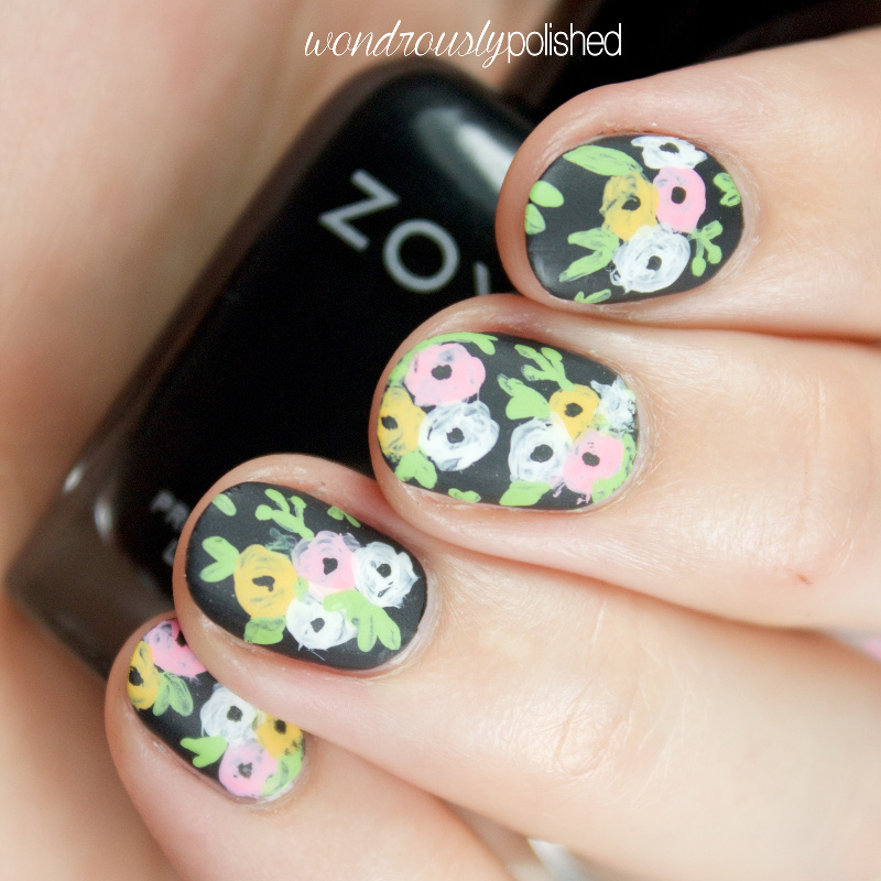 Nail Art With Tape: Wondrously Polished: Nail Art: The Planner Society Washi