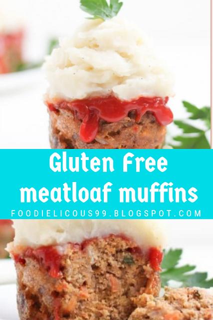 Gluten Free meatloaf muffins