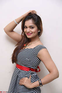 Ashwini in Spicy Short Deep Neck Dress at Pelliki Mundu Prema Katha Trailer Launch Exclusive  27.JPG