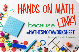 http://www.mrswillskindergarten.com/2016/04/hands-on-math-linky.html