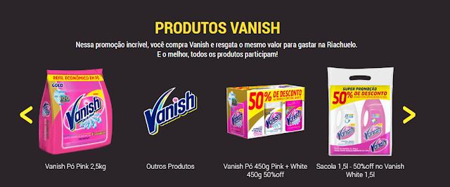 produtos promocao vanish