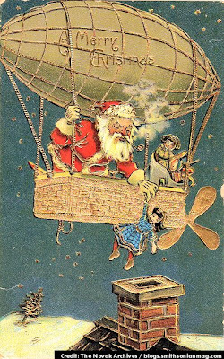 Santa Claus of The Future - 1908