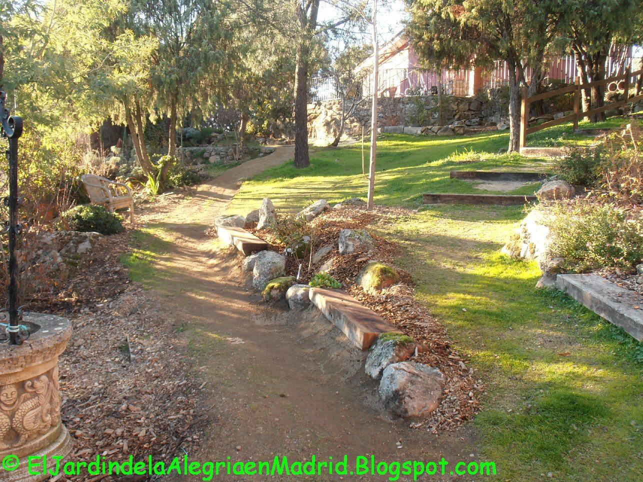 El jard n de la alegr a los jardines con pendientes son - Jardines en pendiente ...