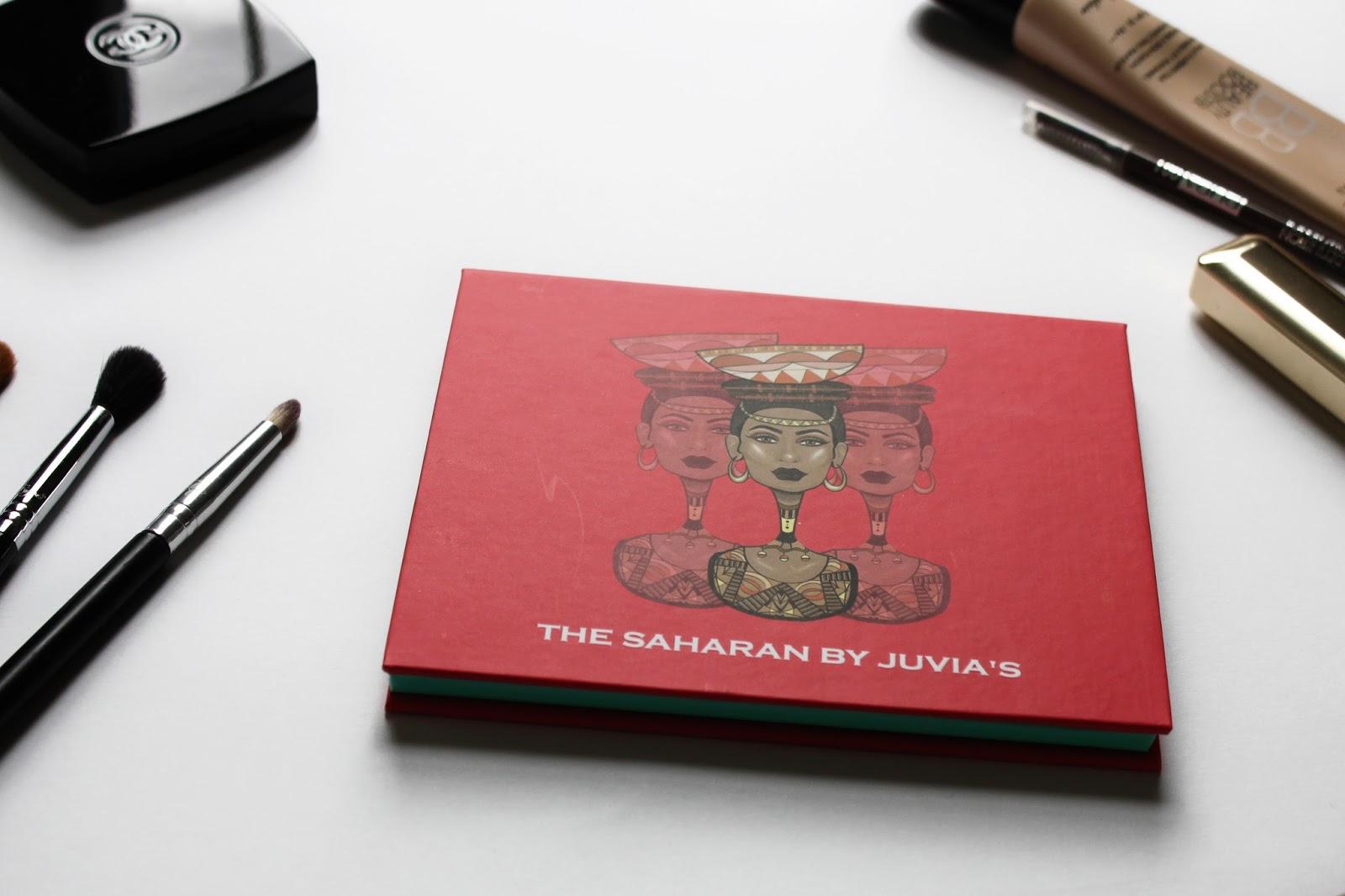 Juvia's Place - The Saharan - Palette maquillage fards à paupière - swatchs - avis @DEUXAIMES