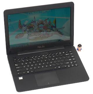 Laptop ASUS X454WA AMD E1 Second Malang
